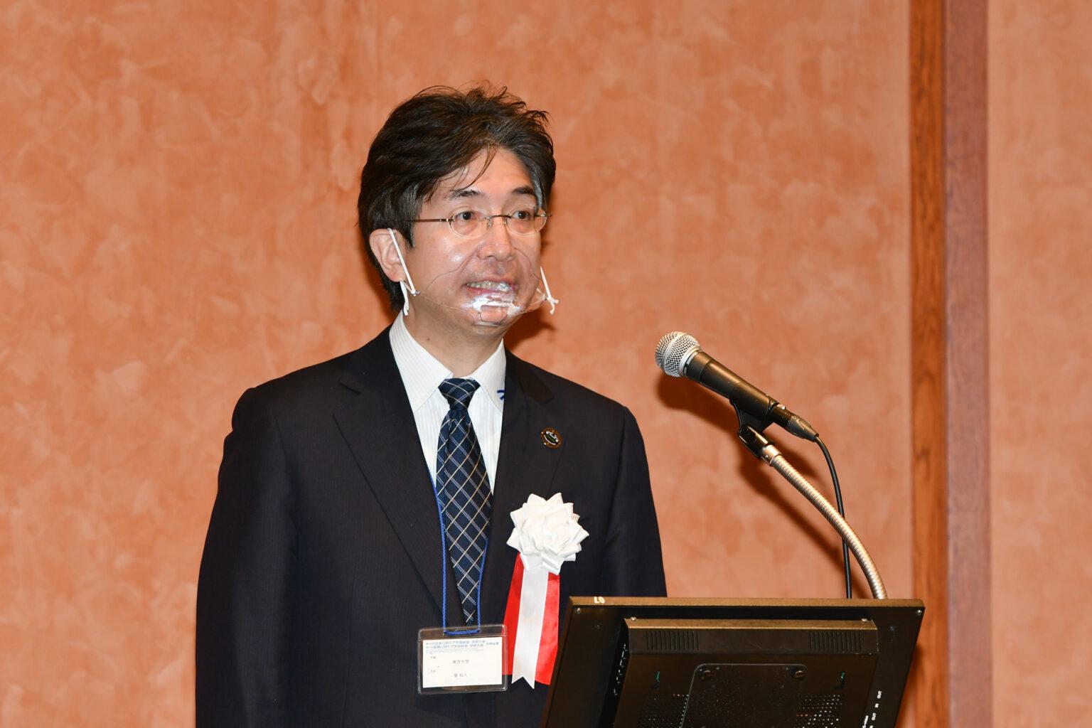 Prof. Hoshi Kazuto, President of ISOC