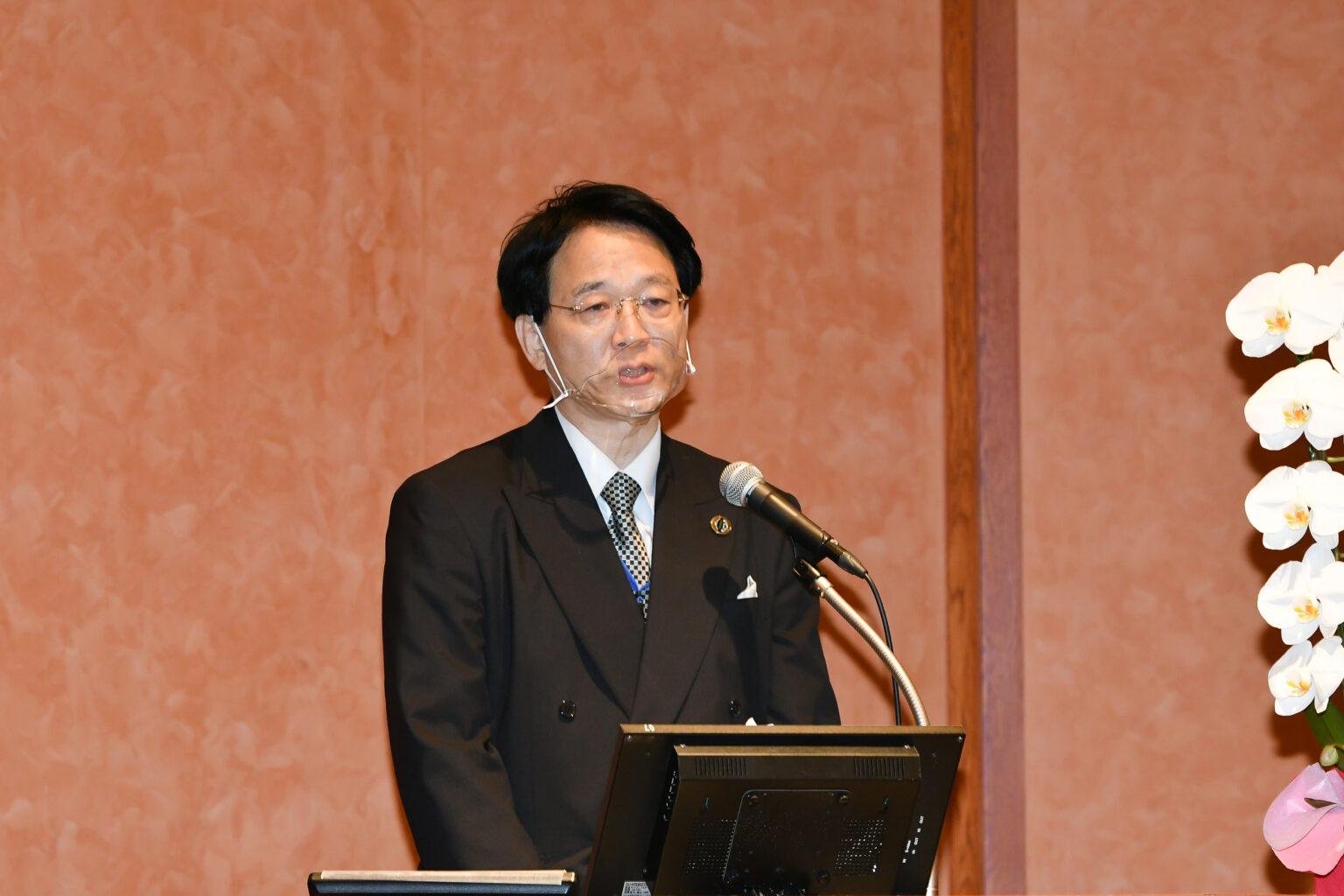 Opening Speech by Prof. Nagato Natsume