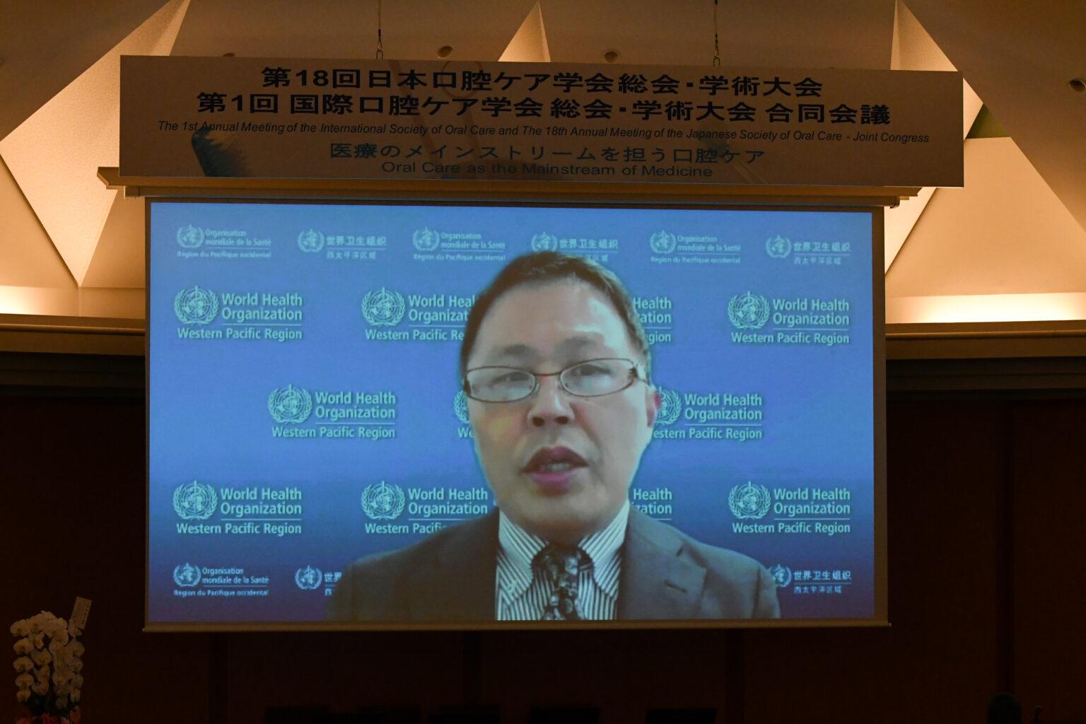 Dr Shinjiro Nozaki, Compliance and Risk Management Officer, World Health Organization